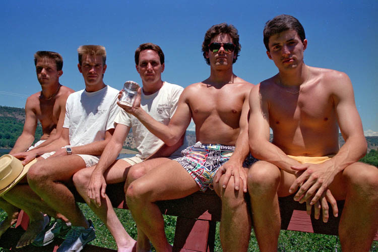 five year photo 1987